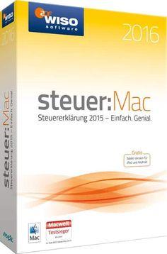 WISO Steuer Mac 2016 – Software für die Steuererklärung 2015 - http://www.sir-apfelot.de/wiso-steuer-mac-2016-3769/