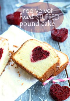 Red Velvet Stuffed Pound Cake | Chelsea's Messy Apron