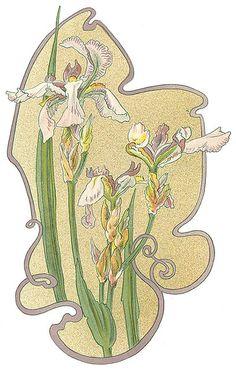 Welcome to Dover Publications Flores Art Nouveau, Art Nouveau Flowers, Illustrations, Illustration Art, Zentangle, Design Art Nouveau, Motif Floral, Decoupage, Love Art