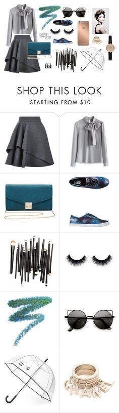 """""""Out Of This World"""" by abbytaylorfashion ❤ liked on Polyvore featuring Alexander McQueen, Chicwish, M&Co, Vans, Manic Panic, Mura, Kate Spade, Été Swim, Angelo and Barbour"""