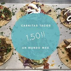 Crazy special of the day. $1.50 carnitas tacos created by Chef Jake. Come get them while they last!! #mexicanfood #mexicanfoodporn #localfood #lajolla #sandiegofood #sandiego #tacotuesday #tacos🌮 @sandiegoeats @best.of.sandiego #citybeatsd #chefmode #sdeats #dsdeat #sdfoodie #sdfoodscene #nomnomnom #carnitas #lajollalocals #sandiegoconnection #sdlocals - posted by Un Mundo Mexican Grill  https://www.instagram.com/unmundomex. See more post on La Jolla at http://LaJollaLocals.com