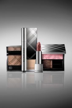 The new Burberry Beauty campaign - gorgeous packaging