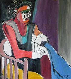 Ritratto di Margherita. Portrait of Margherita. 1995. Gabriele Donelli