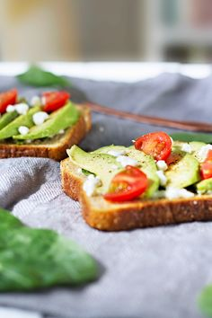 Such a great idea for you when you don't have a lot of time. Grilled Avocado Goat Cheese Toast!
