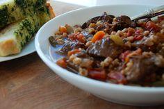 Beef Farro Soup