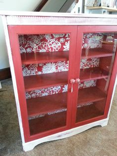 Lovely upcycled antique cabinet!