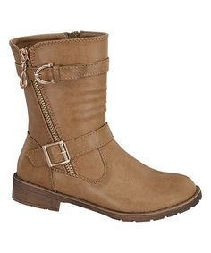 Look what I found on #zulily! Camel Violet Boot #zulilyfinds