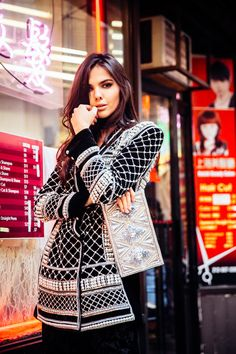 a63679c4 H&M x Balmain collection is almost here and we got an exclusive chance to  shoot it