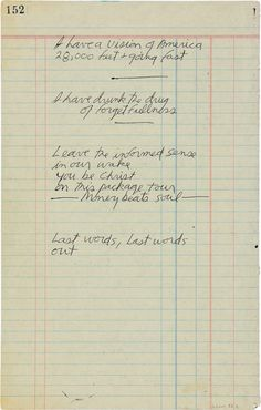 The last two pages of The Lizard King's penciled poetry, possibly for a future song that was never completed.  ~  Jim Morrison / The Doors
