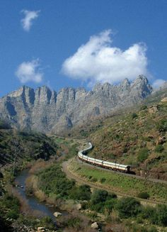 Take a luxury train safari on the magnificent Rovos Rail through South Africa, or explore Africa Luxury Train Travel on splendid Shongololo Express train tours South Afrika, Holiday Places, Train Journey, By Train, Train Travel, Africa Travel, Countries Of The World, Continents, Beautiful Places