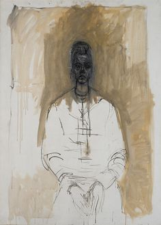 <p><strong>Caroline in Tears, 1962</strong><br /> <br />Oil on canvas, 100 x 73 cm<br /><br /><em>Fondation Alberto et Annette Giacometti, Paris, inv. 1994-0638</em><br /><br />© Alberto Giacometti Estate (Fondation Giacometti, Paris + ADAGP, Paris)</p>