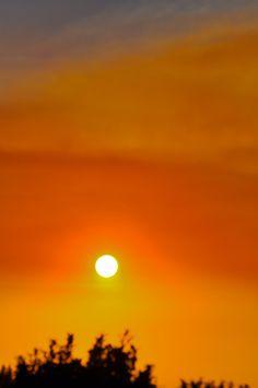 puesta de sol, enero 2014.