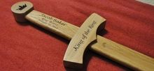 Ringbearer Wooden Sword Keepsake (TOP SELLER!!!)