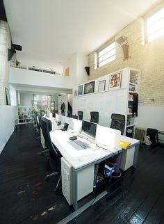 Studio space by Raw Design Studio, via Flickr