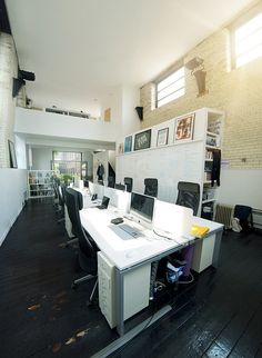 Studio space by Raw Design Studio, via Flickr