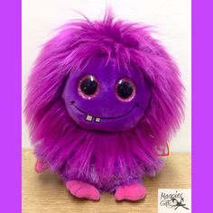 Fizzy Lola by TY in stock at Magpies Gifts. Magpies Gifts, Monster, Projects To Try, Plush, Fictional Characters, Art, Teddy Bear, Bears, Plushies