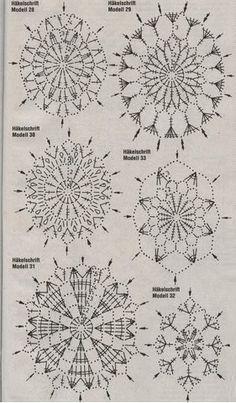 Album Archive - Jön a húsvét Crochet Diagram, Crochet Chart, Crochet Motif, Crochet Doilies, Crochet Flowers, Crochet Stone, Crochet Ball, Thread Crochet, Crochet Granny
