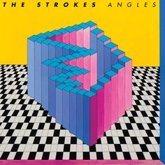 """Artist: The Strokes. The Strokes bring you their highly anticipated fourth album, ANGLES, via RCA Records featuring the first single, """"Under Cover of Darkness. Under Cover of Darkness. Cover Art, Cd Cover, Music Album Covers, Music Albums, The Strokes Albums, Pochette Cd, Great Albums, Top Albums, Branding"""