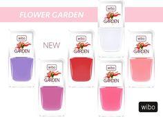 Lakiery z kolekcji FLOWER GARDEN  #new #manicure #nails #wibo #kosmetyki #nailsart #color