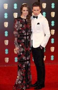 Eddie Redmayne and Hannah Bagshawe   All The Looks At The 2017 BAFTA Awards