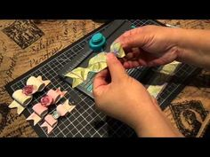 ▶ Create a bow with one strip of design paper with the WRMK Envelope Punch Board - YouTube