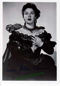 Della Casa, Lisa - Signed Photo as Arabella