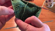 Picking up The gusset. - YouTube