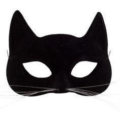 Black Cat Mask - Party City