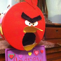 Angry Bird Valentines Box- Alex's pick....