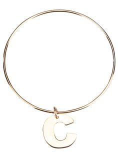 MAMAN ET SOPHIE charm bangle bracelet
