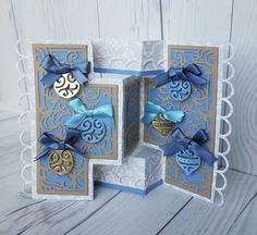 Created by Rebekah Weckerly using the Die'sire Kinetic Dies by #crafterscompanion