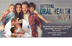 National Oral Health Month is the perfect time to improve your hygiene habits.  #DentistCalgary #OralHealthMonth