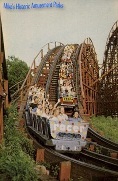 The Racer- 2 cars race each other-Kennywood Park This was one of my favorites growing up!!!