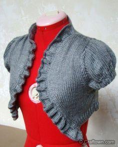 Vintage Knit Bolero