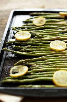 Easy Lemon Roasted Asparagus