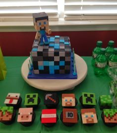 Viva La Cake I Blog: easy minecraft cake