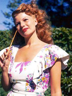 steamboatbilljr:  Rita Hayworth, 1940s