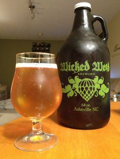 Try A Golden Clear IPA With Your Prime Life Bison Burger This Wicked Weed