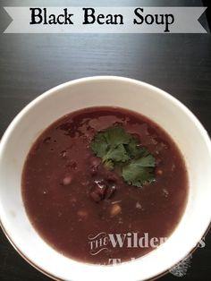 Spicy Black Bean Soup - The Wilderness Table #vegan #vegetarian #outdoors