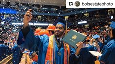 Did you see @boisestatephoto at #BoiseStateGrad Winter Commencement on Saturday?  We captured a lot of environmental photos of the ceremony and have them available for you to buy prints or downloads!  Click the link in our profile to get to the extended #BoiseState photo gallery!  Congratulations!!