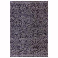Mohawk Home Indigo Rectangular Indoor Woven Area Rug (Common: 5 x 7; Actual: 63-in W x 94-in L x 0.5-ft Dia)