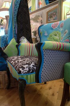 Upholstered Vintage Chair