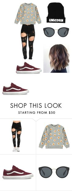 """""""Untitled #114"""" by ladivazamendes on Polyvore featuring Vans and Prada"""