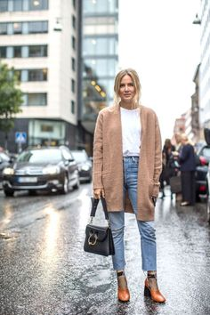 Swede Style: Stockholm Fashion Week The best fall outfit ideas to take from this week's street style scene at Stockholm Fashion Week: Street Style Outfits, Look Street Style, Fall Outfits, Fall Street Styles, Street Style Fashion, Mode Boho, Mode Chic, Stockholm Fashion Week, Stockholm Style