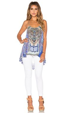 f8d86b8b4c4a2 Shop for Camilla Low Back Top in Courtyard Of Maidens at REVOLVE. Free day  shipping and returns