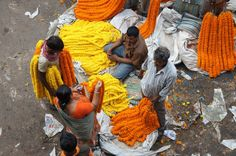 Kumartuli not only supplies clay idols of Hindu gods and goddesses to barowari pujas in Kolkata and its neighbourhoods, but a number of idols are exported.