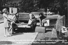 We were the first class of undergraduate women at the University of Virginia: Class of 1974.