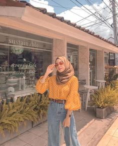 New Ideas Style Hijab Casual Pants - New Ideas Hijab Casual, Hijab Chic, Ootd Hijab, Hijab Dress, Swag Dress, Modern Hijab Fashion, Street Hijab Fashion, Muslim Fashion, Modest Fashion