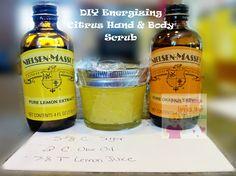 DIY Energizing Citrus Hand & Body Scrub | This Mama Loves Her Bargains
