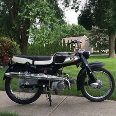 1965 Honda S65 Honda S65 Sport Motorcycle